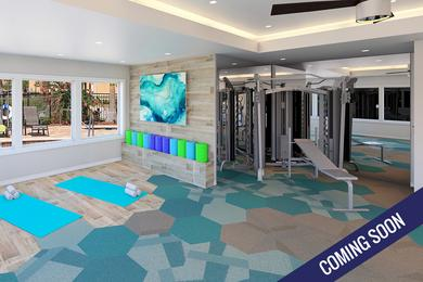 Fitness Center | Get your workout done any time of day at our newly renovated fitness center coming soon!
