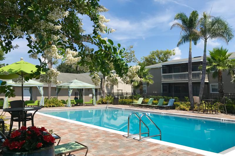 Resort-Style Swimming Pool | Go for a swim in our sparkling swimming pool, or lay out on the sundeck.