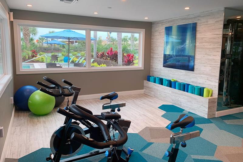 Yoga Center | Our fitness center also features a yoga center.