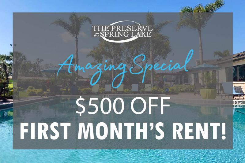$500 Off First Month | Don't miss out on our amazing special! Some restrictions apply. Please call the office for details.