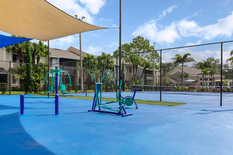 Sports Court | Get fit in our outdoor sports court.