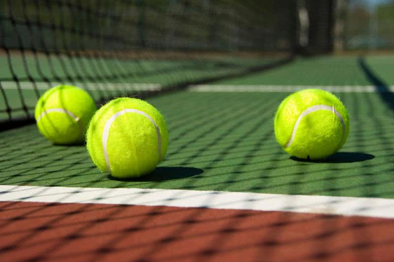 Tennis Court | Catch a game at one of our two lighted tennis courts.