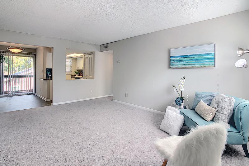 Open Floor Plans | Enjoy our spacious, open floor plans.