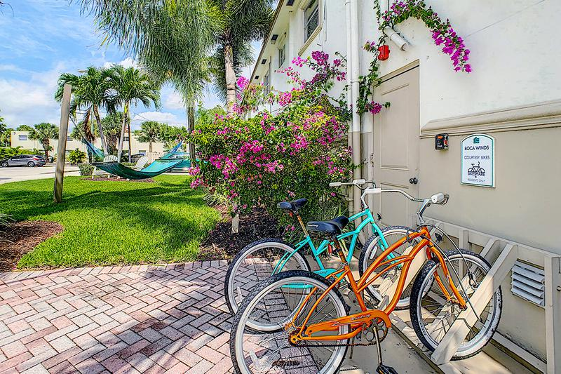 Complimentary Bike Rentals | Residents can rent one of our complimentary bikes.