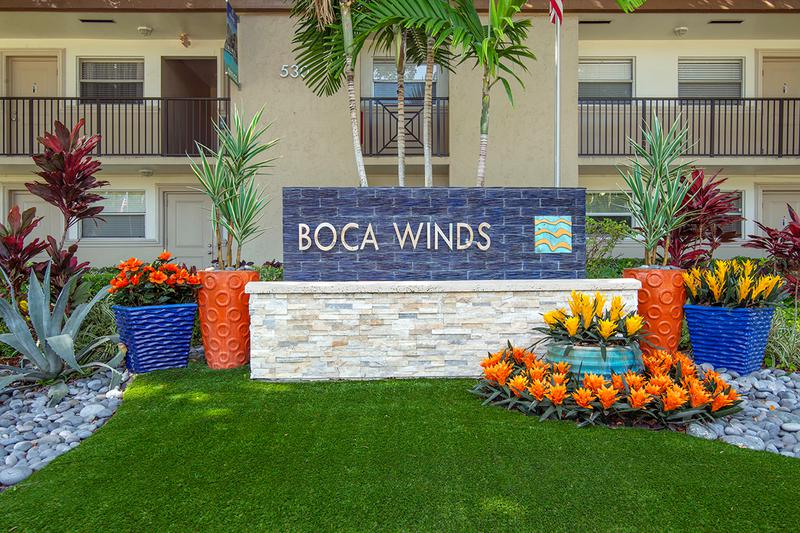 Welcome Home to Boca Winds | Welcome to Boca Winds Apartments in Boca Raton, FL.