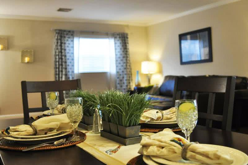 Open Dining room | Enjoy dinner in your new dining room that opens up to the living room.