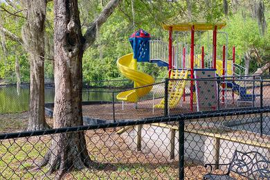 Playground | Let the kids run free at our playground.