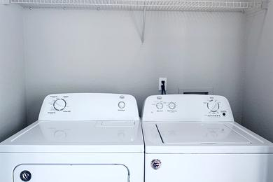 Washer & Dryer Included | Washer and dryer appliances are included within your apartment home.