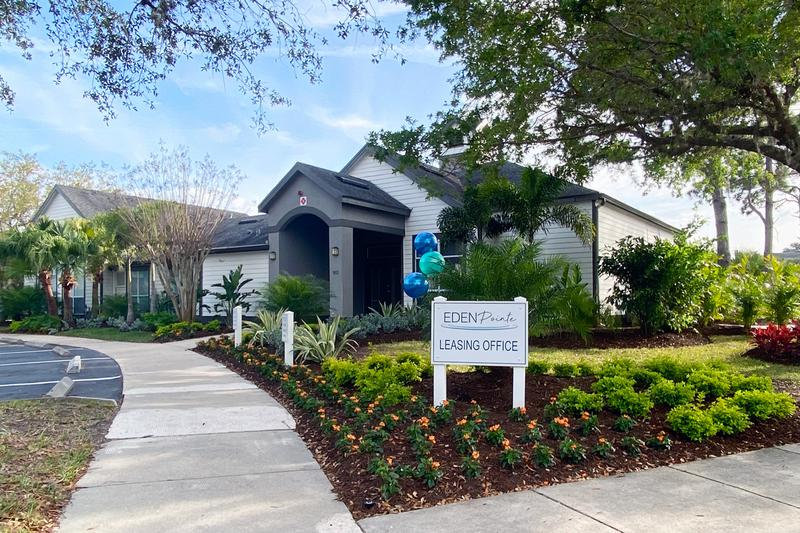 Office Exterior | Our friendly staff is waiting to help you find your new Bradenton apartment home.