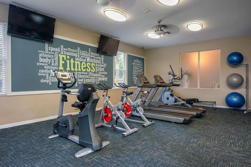 Cardio Equipment | Our fitness center also features plenty machines to get in your cardio.