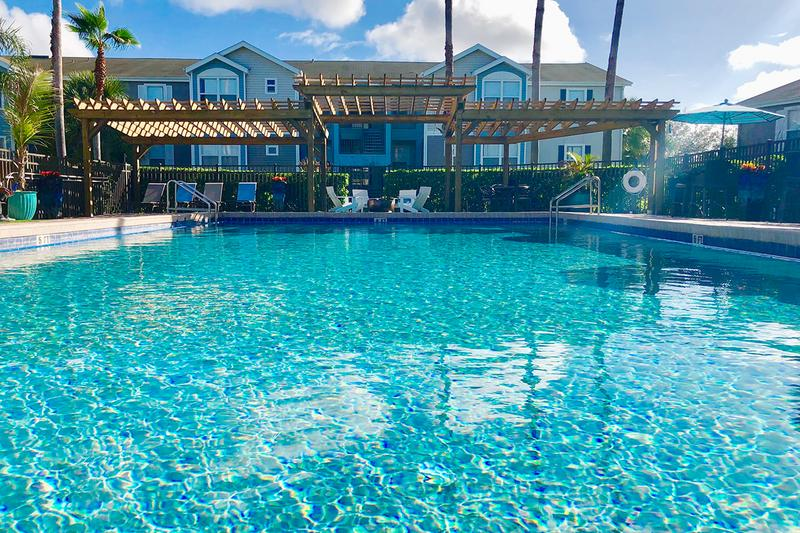 Resort-Style Swimming Pool | Our newly renovated swimming pool is a great place for fun and relaxation!