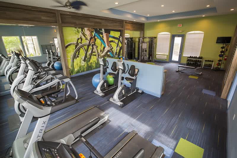 24-Hour Fitness Center | Our state-of-the-art fitness center features all the cardio and weight training equipment you need to get a great workout!