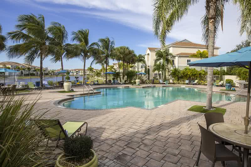 Expansive Sundeck | Catch some rays on our expansive sundeck with cabanas and loungers.