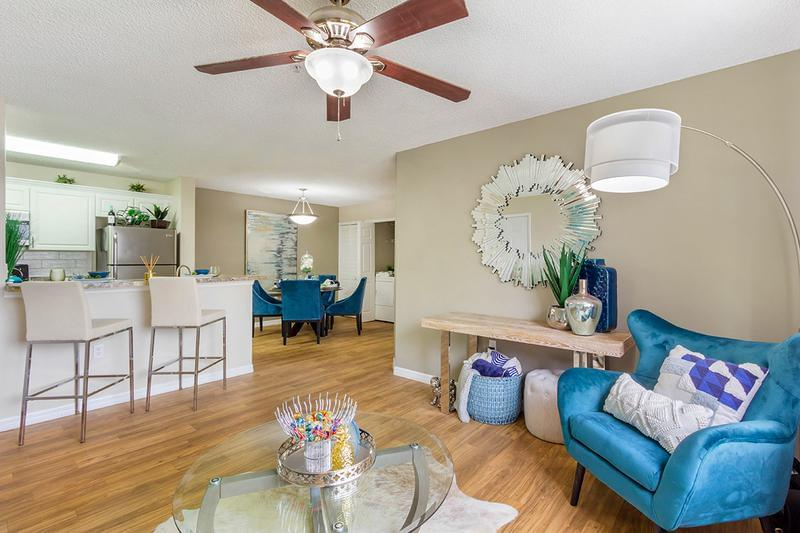 Open Living Area | You'll love our open concept floor plans.