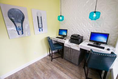 Business Center | Utilize our high speed internet at our resident business center.