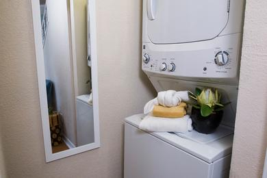 Washer & Dryer | Your apartment home is complete with a washer & dryer.