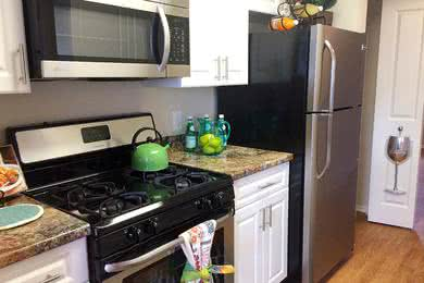 Stainless Steel Appliances | Updated kitchens with stainless steel appliances available.
