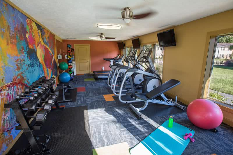 Fitness Center | Get fit any time of day at our 24-hour fitness center.