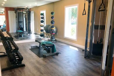 24-Hour Fitness Center | Get in your workout any time of day in our 24-hour fitness center.