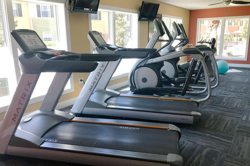 Cardio Equipment | Our fitness center has all the cardio equipment you could ask for.