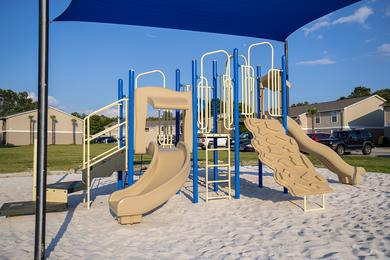 Playground | Bring the kids down to our on-site playground.