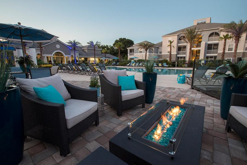 Fire Pit | Our fire pit is a great place to wind down after a long week.