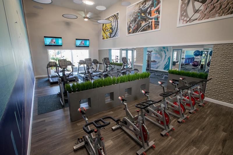 Fitness Center | Get an invigorating workout in our brand new fitness center, open 24-hours a day!