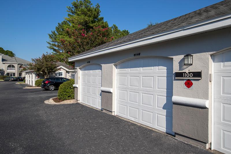 Detached Garages | Our community offers multiple detached garages available to rent.