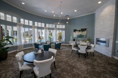 Clubhouse Interior | Come on into the resident clubhouse for some complimentary coffee or just to say hello. Our friendly leasing staff is waiting to help you find your new home!