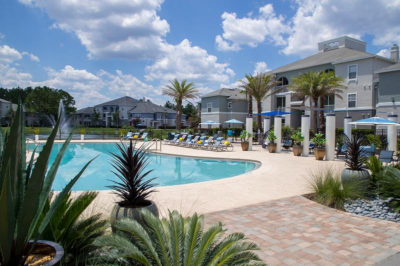 Resort-Style Pool | Take a dip in our resort-style pool and escape the Florida sun.
