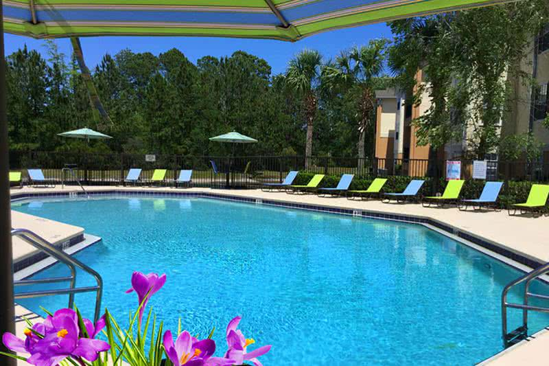 Resort-Style Swimming Pool | Take a dip in our resort-style swimming pool.