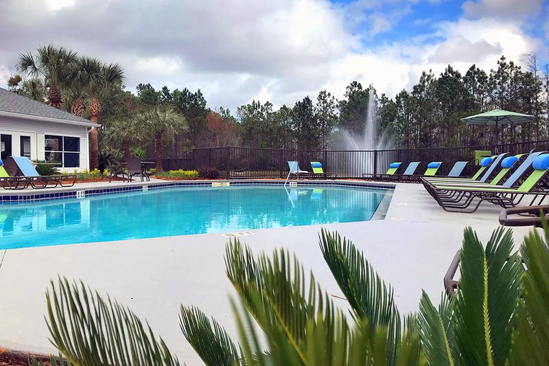 Swimming Pool | Escape the Florida heat in our resort-style swimming pool.