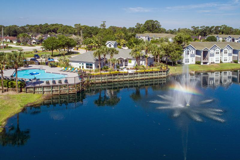 Aerial View of Community | Come home to Indigo Isles and enjoy beautiful lakeside living!