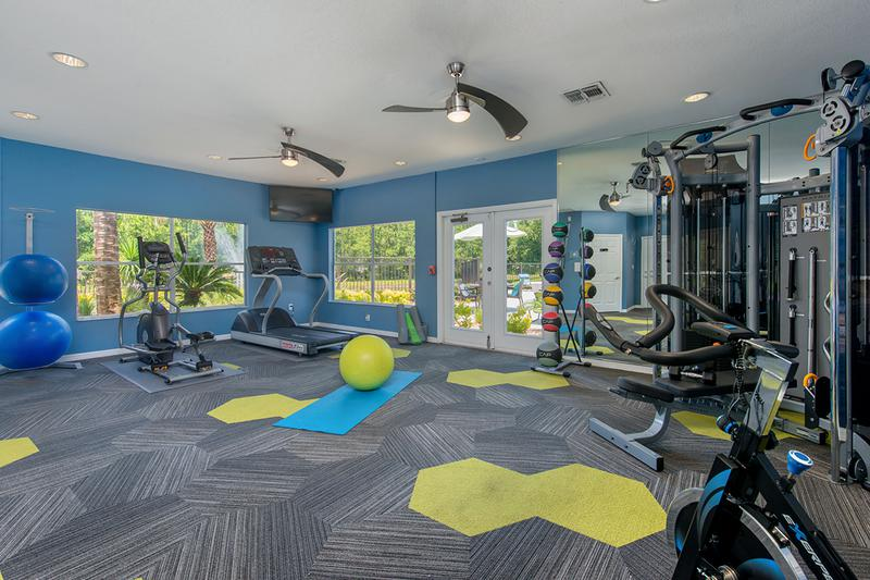 State-of-the-Art Fitness Center | Get an invigorating workout at our state-of-the-art fitness center.