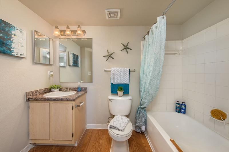 Master Bathroom | Master bedrooms feature their very own master bath.