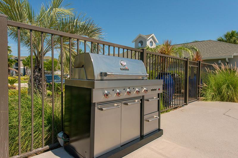 Gas Grill | Grill out by the pool utilizing our gas grill.