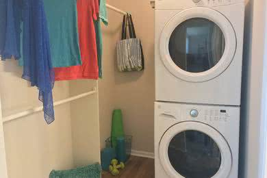 Washer & Dryer | All of our apartment homes include a full size washer and dryer.