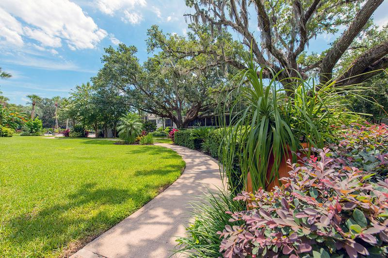 Lush Landscaping | You'll enjoy lush landscaping throughout our community.