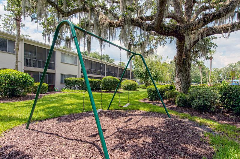 Swing Set | Bring the kids down to our swing set for some fun.