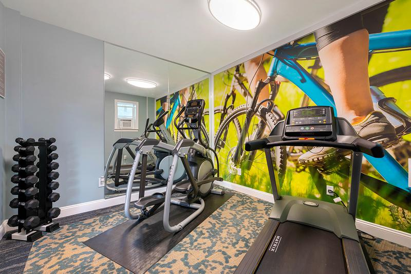 Cardio Center | Get fit in our brand new fitness center.