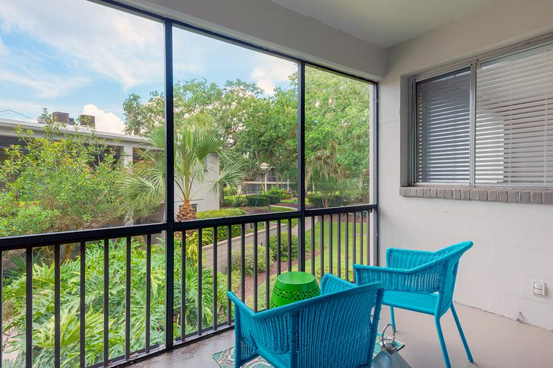 Screened-In Lanai | Enjoy your very own private, screened-in lanai.