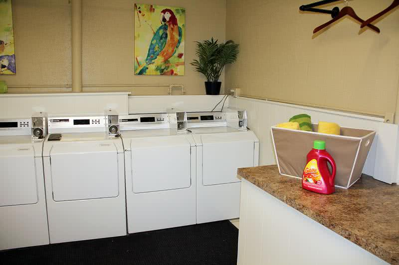 Laundry Room | Your new apartment home is complete with washer and dryer appliances.