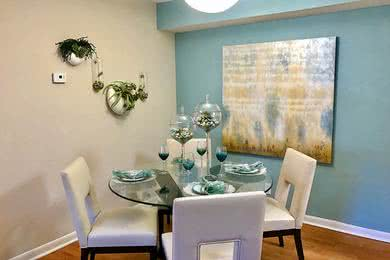Dining Room | Separate dining areas just steps from your newly renovated kitchen - perfect for family dinners.
