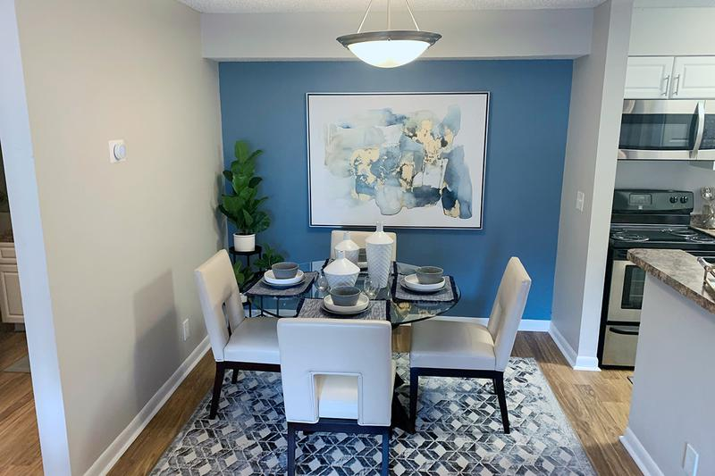 Dining Room | Separate dining areas just steps from your newly renovated kitchen...perfect for family dinners.