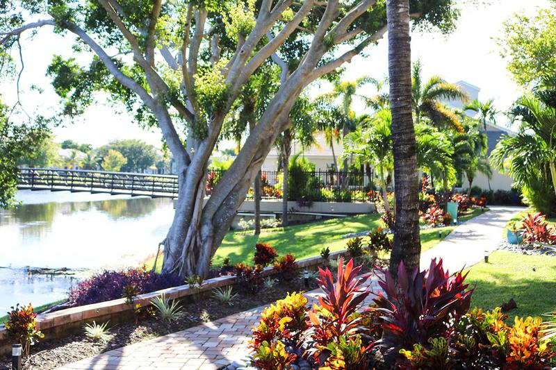 Lush Landscaping | Enjoy views of our lush landscaping throughout our community.