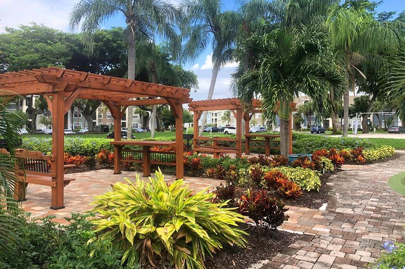 Gazebo Seating | Take in the gorgeous scenery from our brand new gazebo seating area.