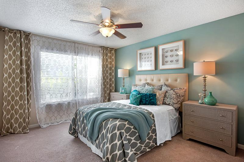 Bedroom | Your spacious second bedroom includes a fantastic walk-in closet - perfect for your guests or extra storage.