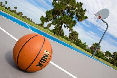 Basketball Court | Play a ball game at our basketball court.