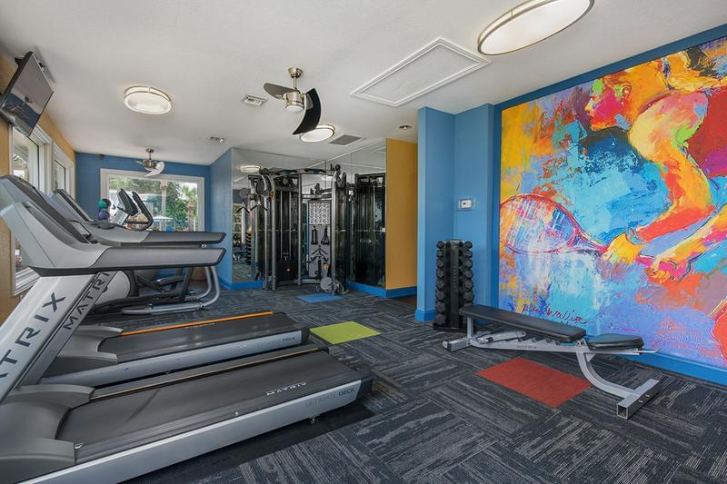 Cardio Equipment | Our fitness center features plenty of cardio equipment for you to get your workout on.