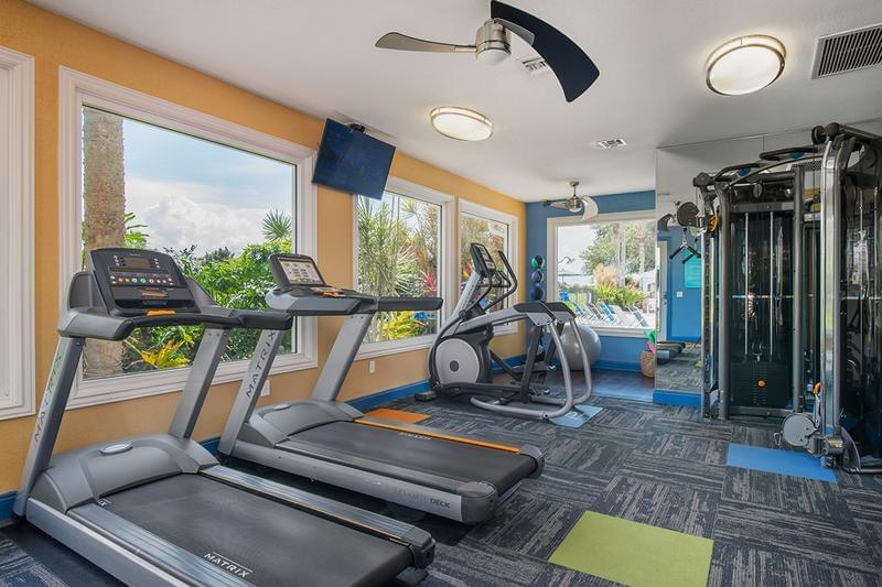 Fitness Center | Get a workout in our 24-hour fitness center!